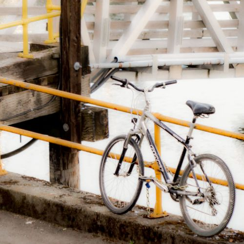 bike yellow rails
