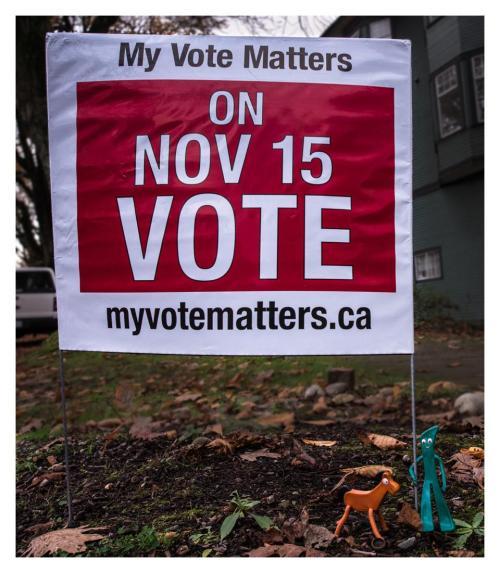 gumby rappeler de voter