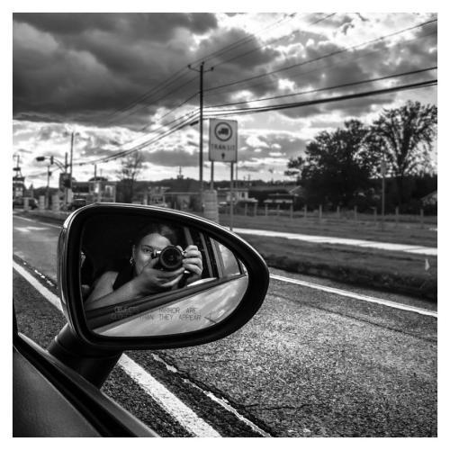 autoportrait en auto